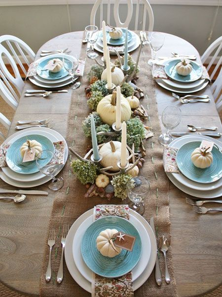 7 Easy DIY Thanksgiving Table Settings