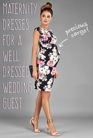 It's wedding season all year long really, and if you've got precious cargo, then you'll want to show off just how precious it is, in these gorgeous dresses! #maternitydresses #babybump #bumpstyle