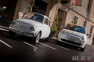 """New Fiat 500 TwinAir: """"Retour vers le futur"""" (CH)"""