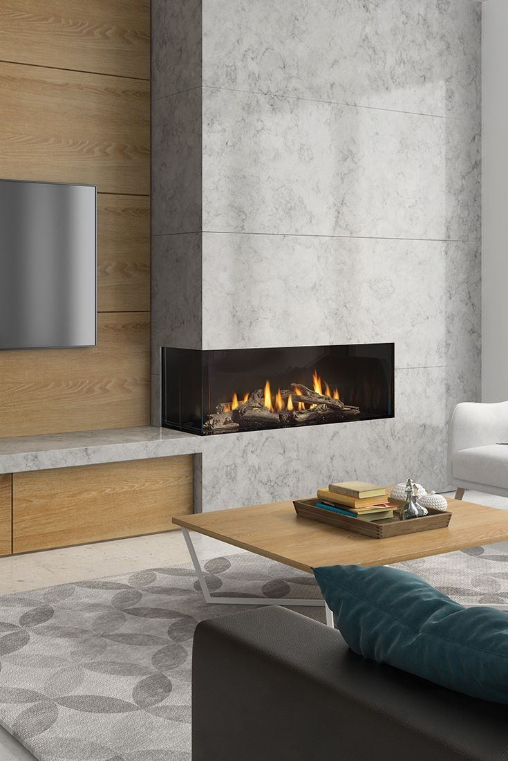 Regency City Series Chicago Corner 40le Modern Fireplaces With