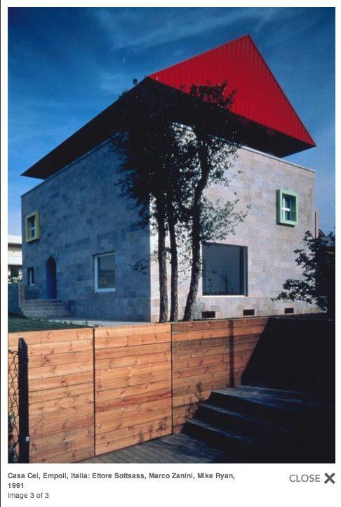 Casa Cel, Empoll, Italy: Ettore Sottsass, Marco Zanini, Mike Ryan, 1991