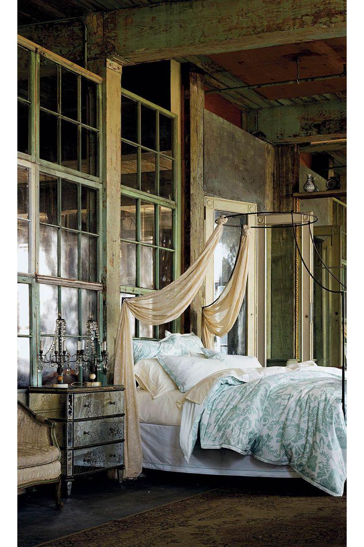 love the contrast: Decor, Interior Design, Idea, Window, Shabby Chic, Dream House, Bedrooms, Space