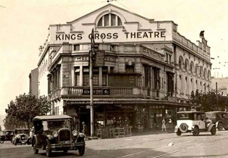 King's Cross Theatre in 1930s.A♥W. History NSW