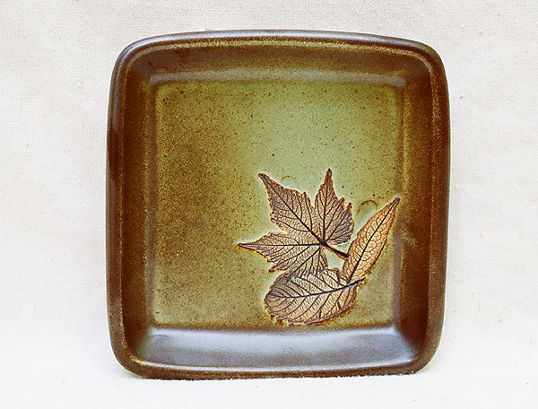Square dish, Beardsley Pottery