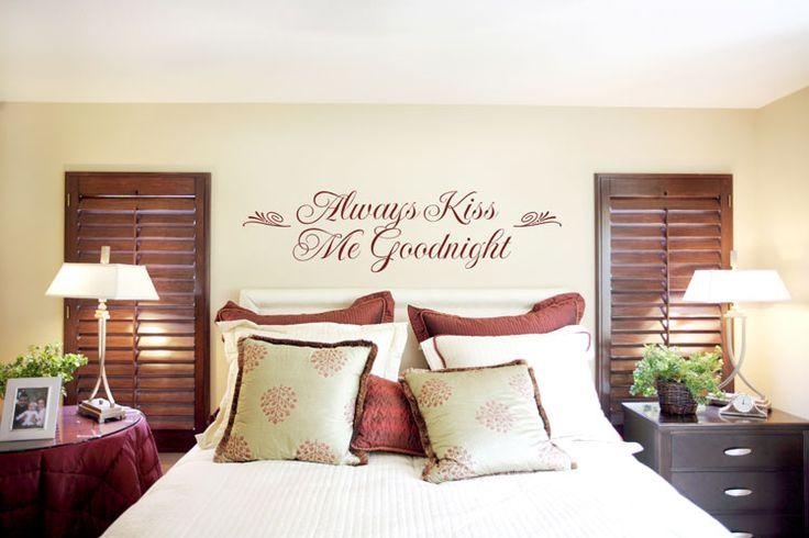 pinterest wall decals for a bedroom wall | Bedroom Wall Decoration Ideas - Decoholic