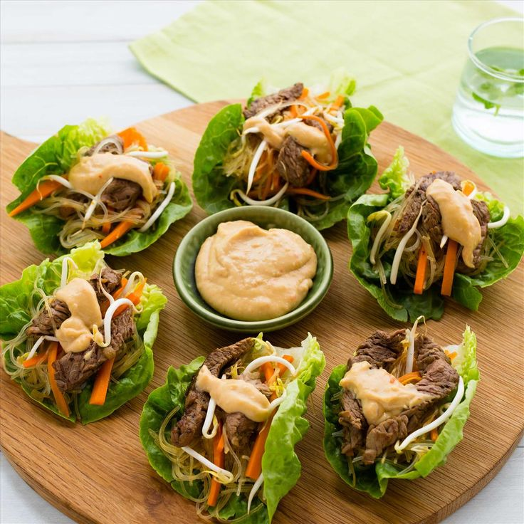 Satay Steak and Veggie Noodle Cups