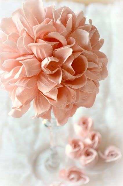 love this diy flower ball! great to spray with fragrance for your