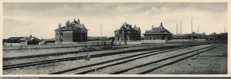 Общий вид станции Андроновка