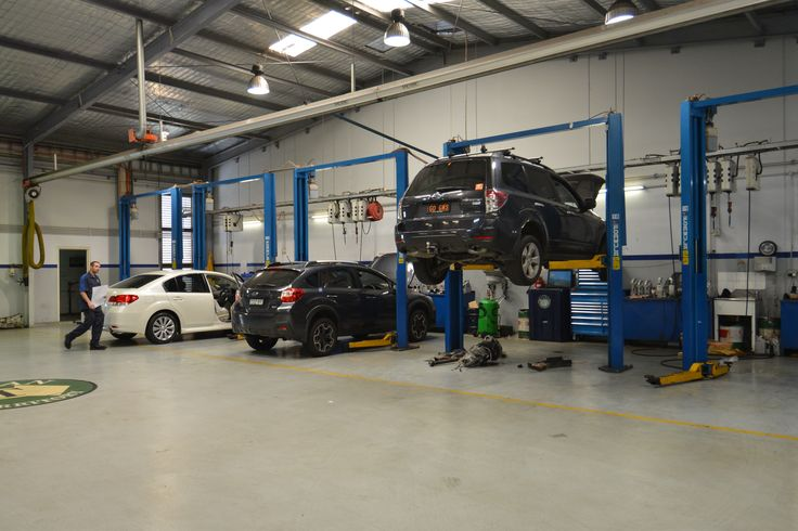 Some subies getting some TLC at our service centre