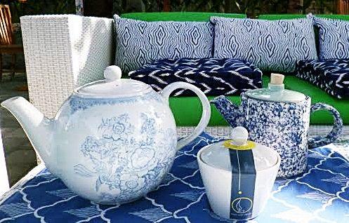 Tea Time, Tan Living