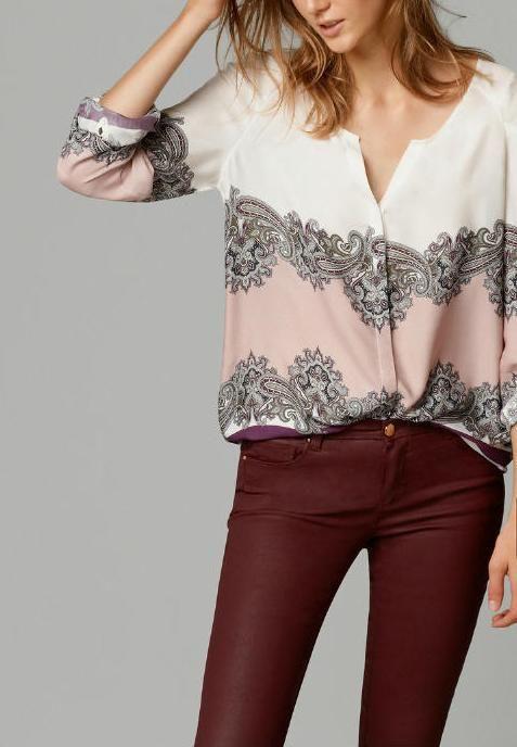 Ucuz 01nrb14 moda kadın eski totem çiçek baskı bluzlar eski v boyun uzun kollu iş giysisi gömlek rahat ince marka üstleri, Satın Kalite Bluzlar & Gömlekler doğrudan Çin Tedarikçilerden:    yalamakdevamı için yeni ürünhttp://www.aliexpress.com/store/103224ölçümleri grafik( izin lütfen ve plusmn