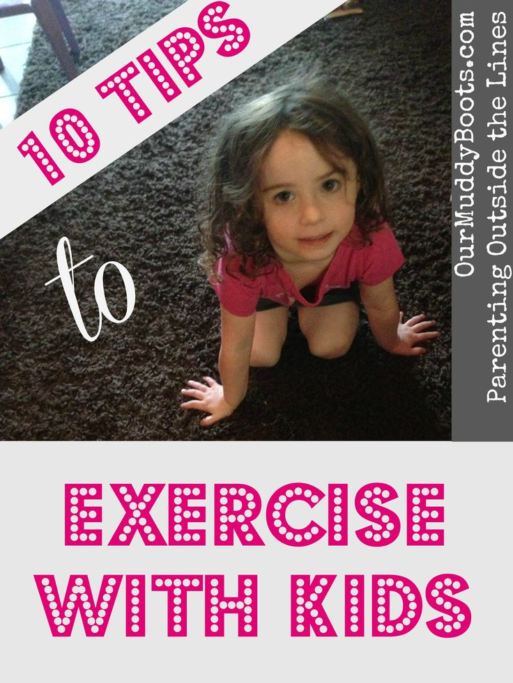 Our kids want to be with us, and we want to workout!  Can we really do both?!  Here are 10 tips to exercise WITH kids!
