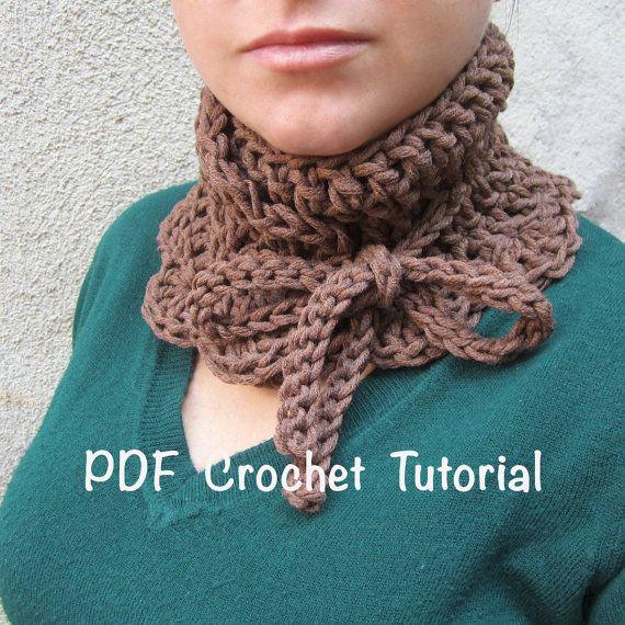Neck warmer crochet patternneck warmer by GiadaCortellini on Etsy