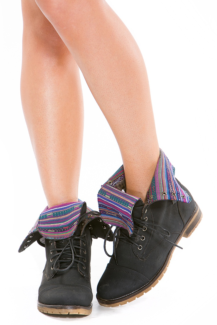 Awesome Fold Over Combat Boots  Cicihot Boots Catalogwomen39s Winter Boots