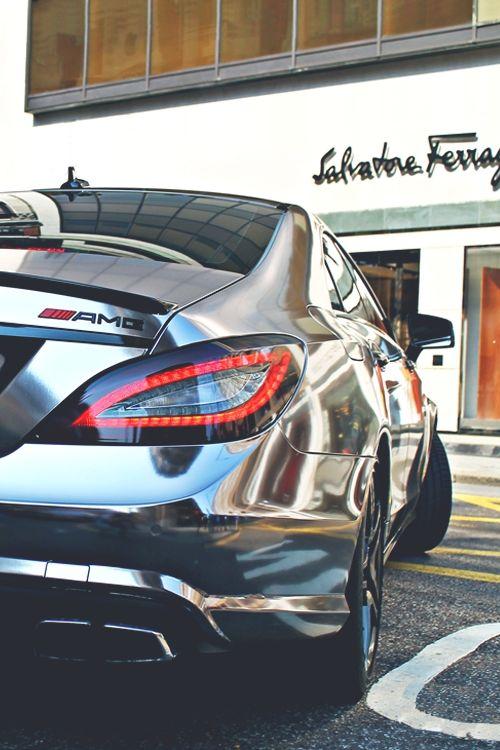 Chrome Mercedes AMG
