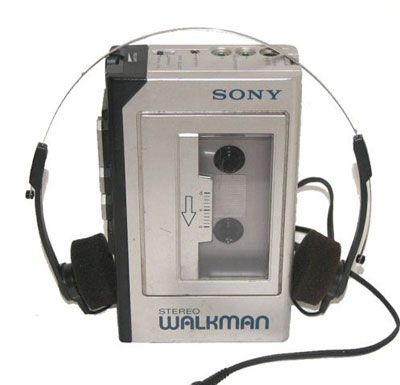 ...you first started taking your music with you? Walkman