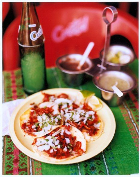 On Sundays, head to the market at Parque de Santa Lucía for tacos, flautas, chicharrones, and other traditional delectables.