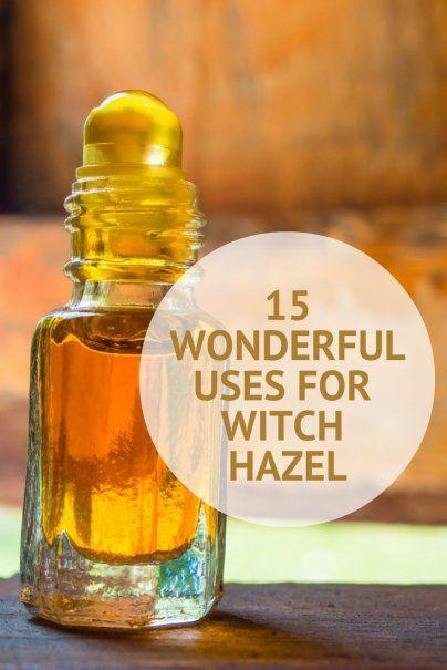 15 Wonderful Uses for Witch Hazel