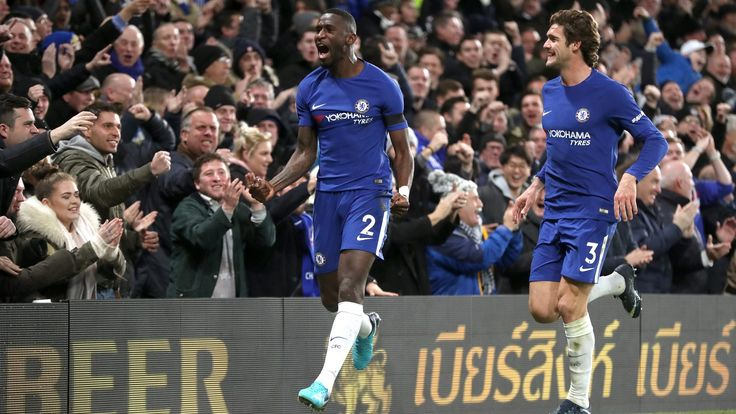 Antonio Conte sees red as Chelsea struggle past Swansea #News #AntonioConte #Chelsea #ChelseavsSwansea #Football