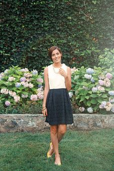 Shoshanna lace combo dress