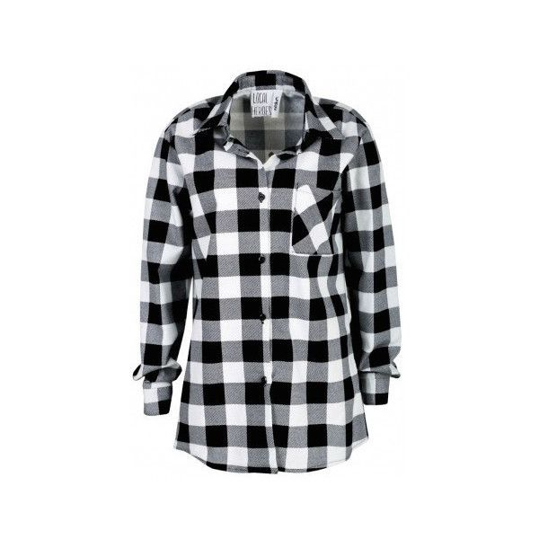 Too Late to Die Young Flannel (225 BRL) ❤ liked on Polyvore featuring tops, shirts, crop top, long sleeve crop top, black and white flannel shirt, black and white checkered shirt and tie crop top