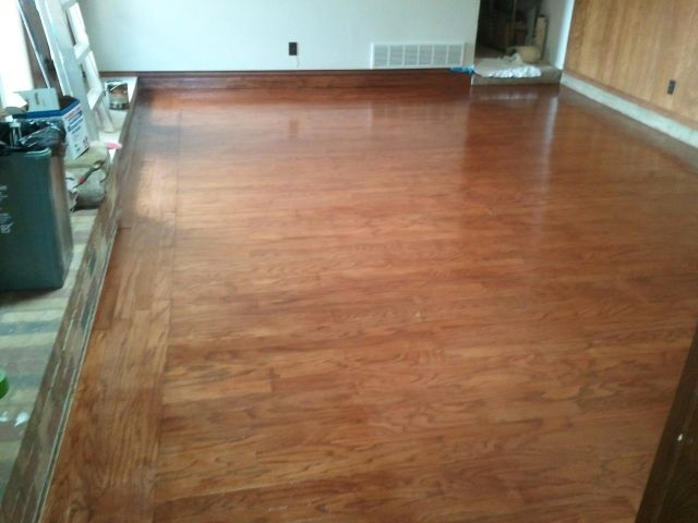 Oklahoma City & Edmond Flooring: Repaired and refinished this oak wood floor . - 9 Best Images About Floors: Tile, Wood, Carpet On Pinterest