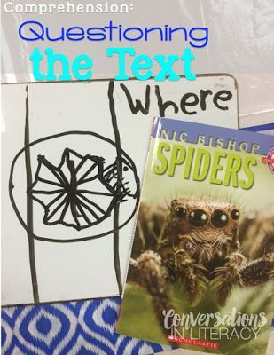 Comprehension Skill- Questioning the Text activity for Interactive Read Alouds