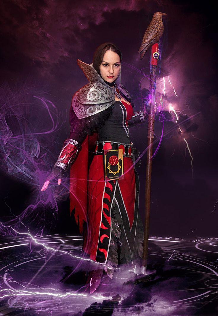 fem medivh cosplay world of warcraft