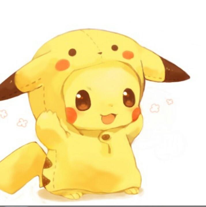Super cute pikachu!   Pokemon :)   Pinterest