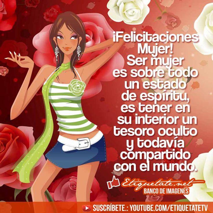 Imagenes con frases alusivas al Dia de la Mujer | http://etiquetate.net/imagenes-con-frases-alusivas-al-dia-de-la-mujer/