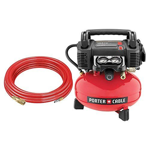 Porter-Cable – 4-Gal. Portable Electric Air Compressor –  http://www.handtoolskit.com/porter-cable-4-gal-portable-electric-air-compressor/