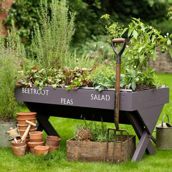 Kitchen Garden Pots: 17 Best Images About Potager Kitchen Gardens On Pinterest