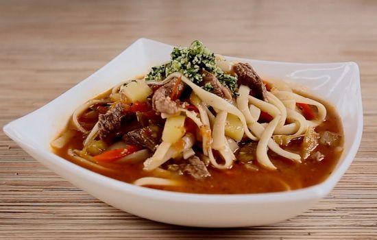 Рецепты узбекского супа из баранины с лапшой, секреты выбора