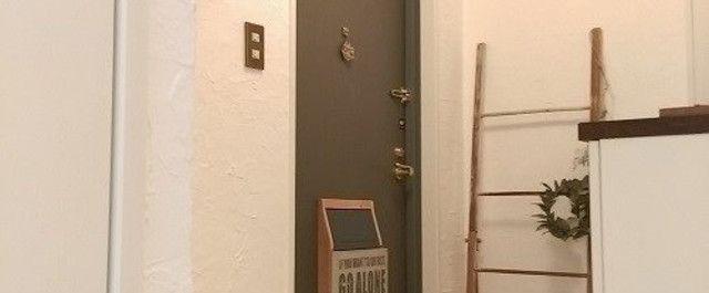 原状回復ok 玄関ドアポストの設置方法と簡単な作り方 玄関ドア
