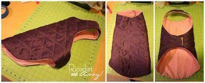 Bricolaje: abrigo para mascotas. Ideas, patrón y tutorial. – Vestidos – #abri …  – cossturakeukenaf