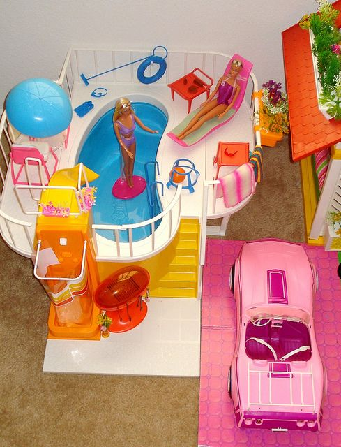 Barbie Dream Pool by Barbie Creations, via Flickr#Repin By:Pinterest++ for iPad#