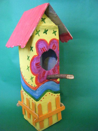 carton vogelhuis 2