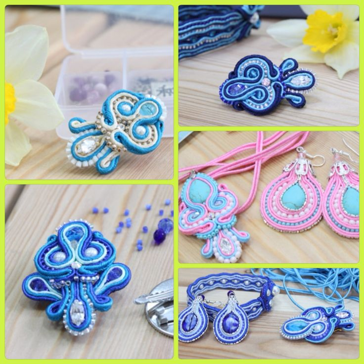 Soutache tutorials for beginners, location: the city of Novosibirsk