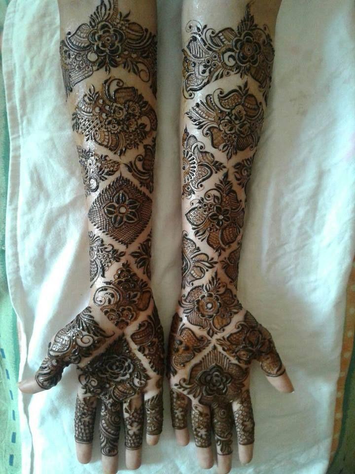 Bridal Mehndi Designs By Aksha Shah from Mumbai