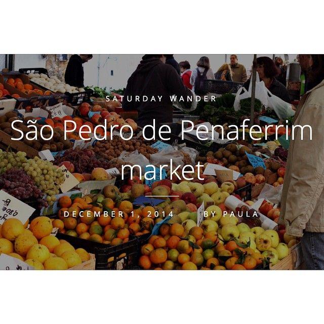 Lisbon by Light @lisbonbylight Instagram photos |  lisbonbylight 01 | 12 | 2014 On the blog, São Pedro de Penaferrim market. #sintra  Read more at http://www.lisbonbylight.com/2014/12/01/sao-pedro-de-penaferrim-market/