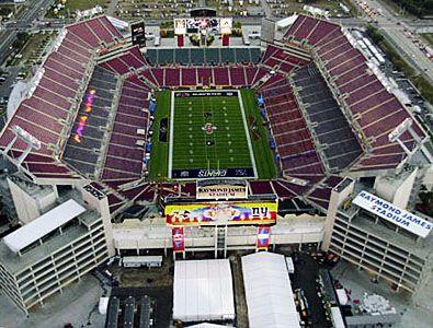 Raymond James Stadium - Tampa Bay Bucs