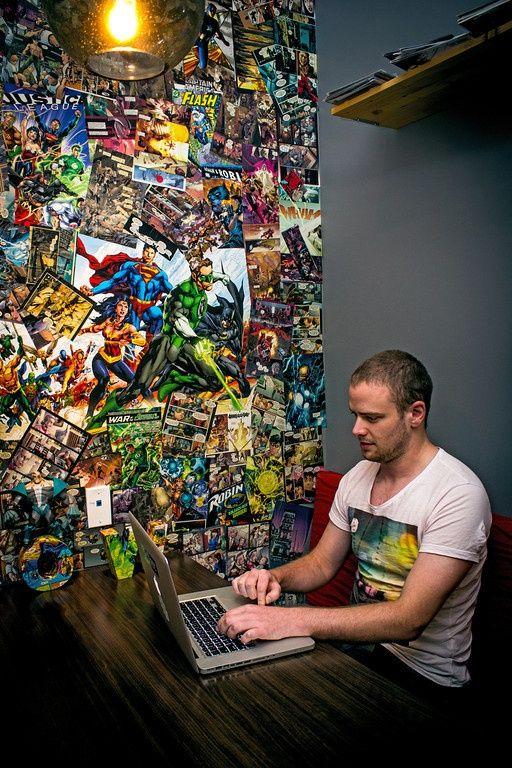 Decoração Geek: Parede de quadrinhos / elementos nerd e geek | Nerd Da Hora