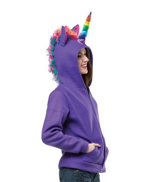 Look what I found on #zulily! Rasta Imposta Purple Unicorn Zip-Up Hoodie - Women & Plus by Rasta Imposta #zulilyfinds