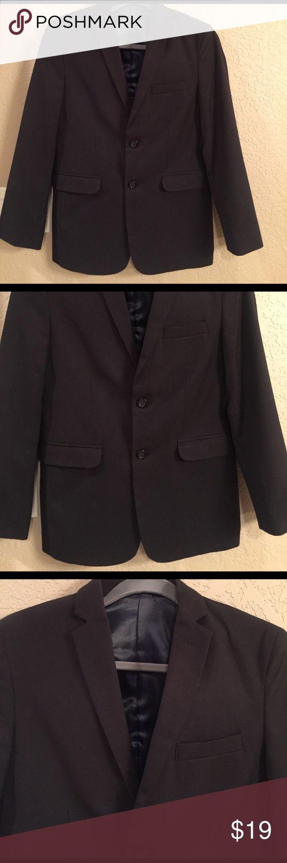 IZOD Boys Black Suit Jacket Perfect condition Boys Suit Jacket worn once to Church Izod Jackets & Coats Blazers