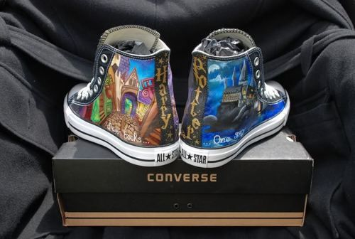 Harry Potter Converse - need.  right now.