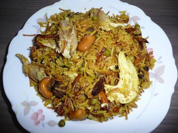 Rezept: Syrische -Reispfanne
