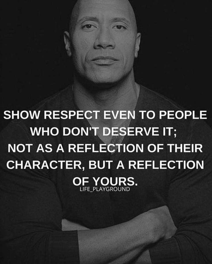 Dwayne Johnson The Rock Inspirational Character