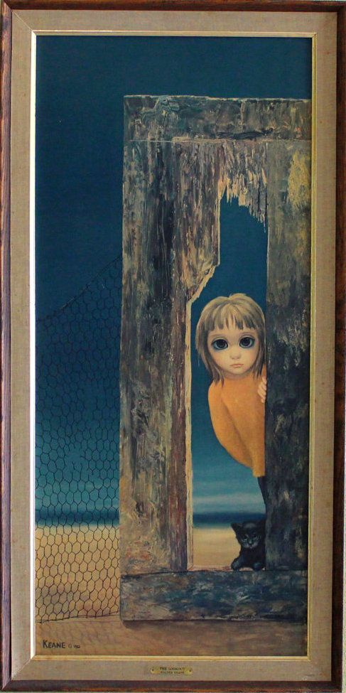 """The Lookout"" - Margaret Keane, 1962"