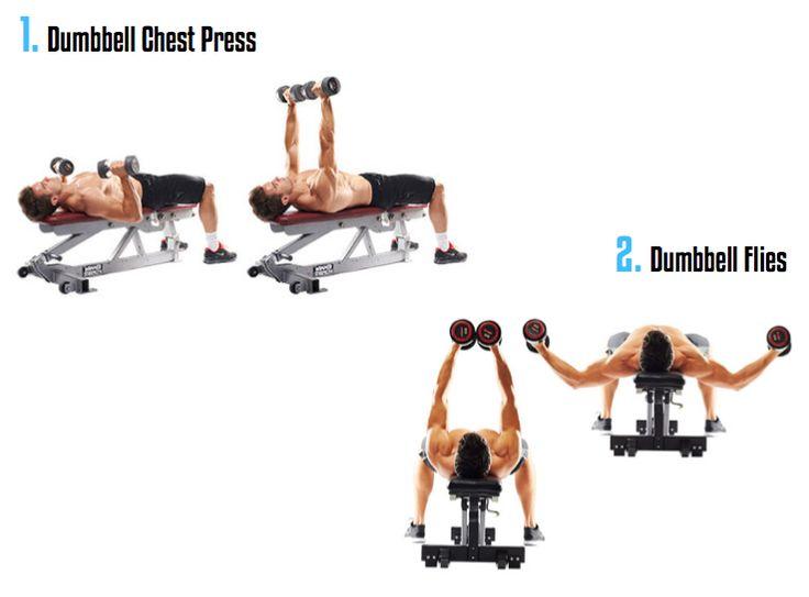 Best fitness chest images on pinterest