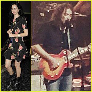 #Krysten Ritter Loves Watching Boyfriend Adam Granduciel Perform in Concert! --- More News at : http://RepinCeleb.com  #celebnews #repinceleb #CelebrityUpdates